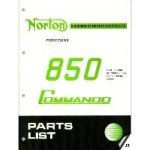 06-5034 - Spare Parts List - 850 | Onderdelenboeken