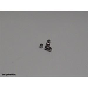 """LAGER - TONNETJES-  KOPPELING - 3/16"""" X 3/16"""""""