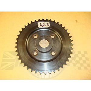42-6087 - Rear wheel sprocket A/B - Ariel hub | BSA
