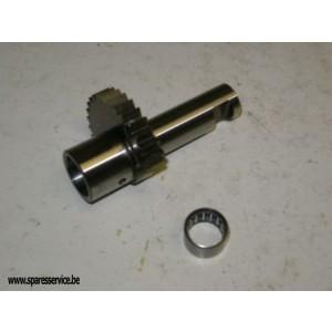 57-4070 - QUADRANT - ASSY - K/S - B25 - LATE B44 & TRI 250 | BSA