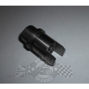 Inlet tappet guide block
