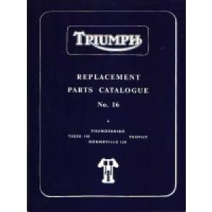 99-0819 - Spare Parts List - 650 pre-unit -1960/62 | Onderdelenboeken