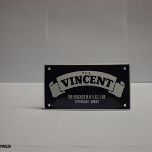 bord03 - Shield email Vincent 140x75 mm | Accessoires