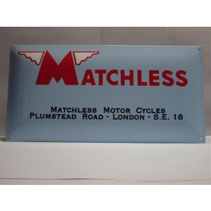bord51 - Shield email Matchless 500x250mm | Accessoires