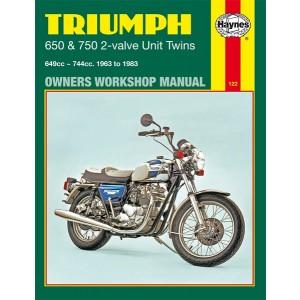 hm122 - Spare Parts List 650-750 unit twins | Onderdelenboeken