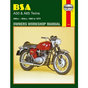 hm155 - Spare Parts List A50 -A65 twins   Onderdelenboeken