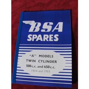 PBBSA001 - Spare Parts List - A5/A7 | Onderdelenboeken