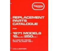 Onderdelenboek 250 - 1971