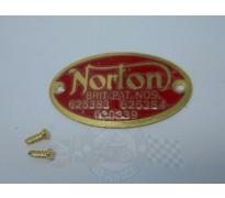 00-1615 | Patent badge | Norton | shop.spareservice.be