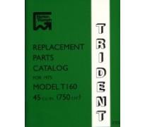 Onderdelenboek - 750 Trident -1975