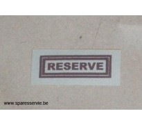 """DECAL - """"RESERVE"""""""