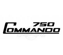 Sticker 'Commando 750'