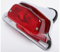 Replica Lucas 564 rear lamp with alloy mounting bracket