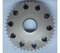 Koppeling - Kettingtandwiel 43T - 500/650 - ALU