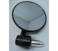 Stuureind spiegel, zwart