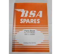 Onderdelenboek - A65 - 1971