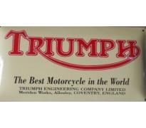 Bord email Triumph 500x250mm