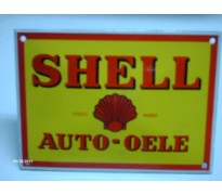 Bord email Shell 140x100mm