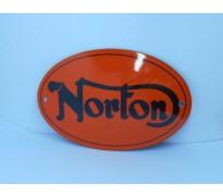 Bord email Norton 120 x 80mm