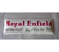 Bord email Royal Enfield 600x200mm