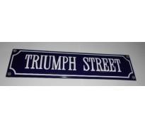Bord Triumph Street 330x80mm