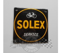 Bord email Solex  100x100mm