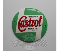 Bord email Castrol dia 100mm