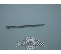 Pad retaining pin